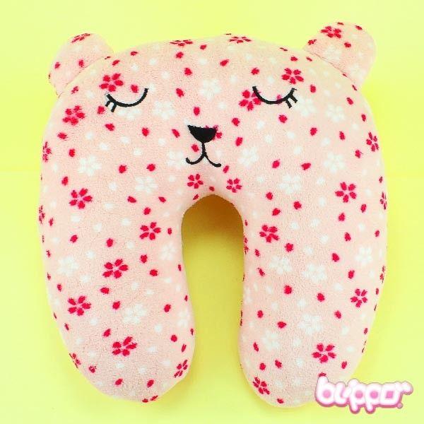 Cute Neck Pillow - Sakura