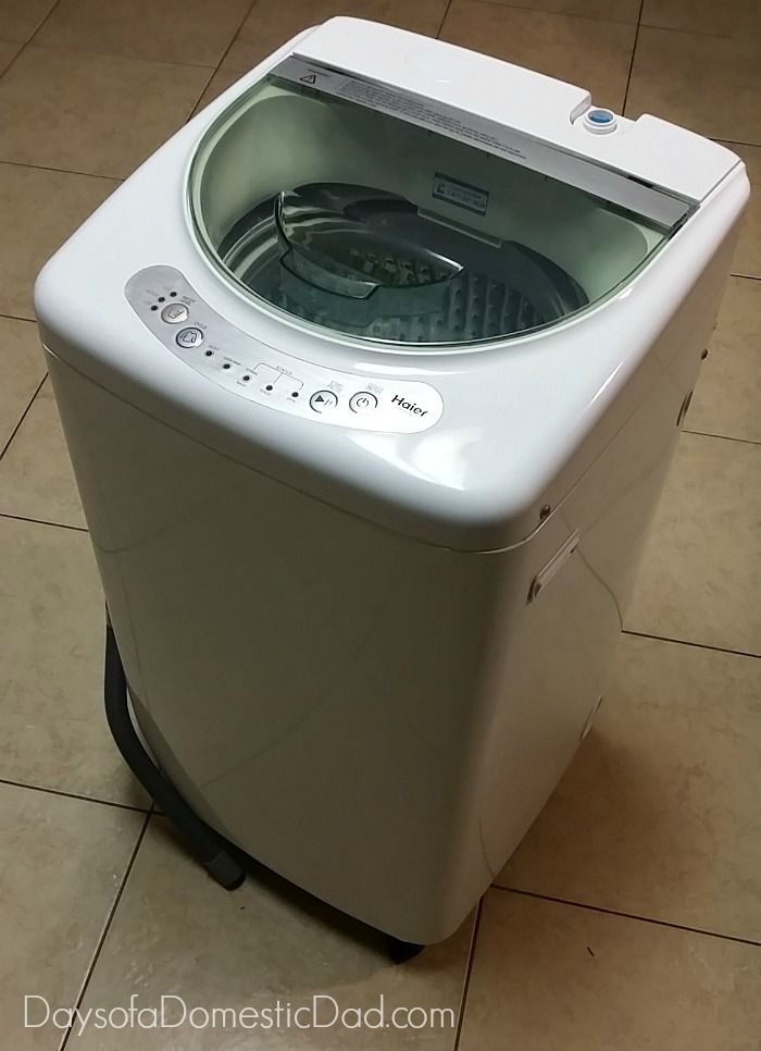 Exceptional Haier Compact Washer For Their Compact Dorm Room #HaierAmbassador