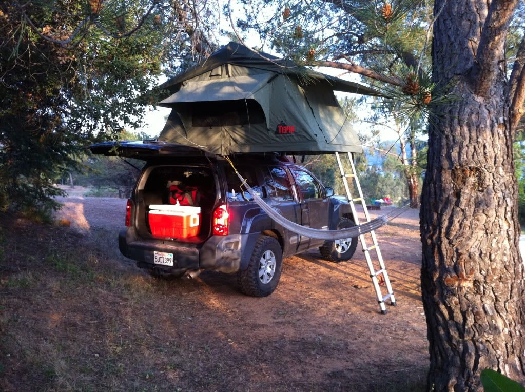 My Rooftop Tent Second Generation Nissan Xterra Forums