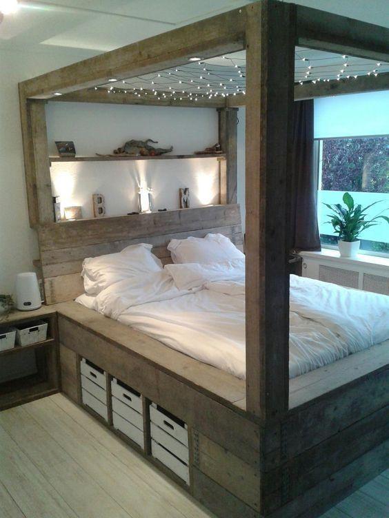 Romantic Bedroom Curtains: 40 Best Romantic Bedroom Decor Ideas