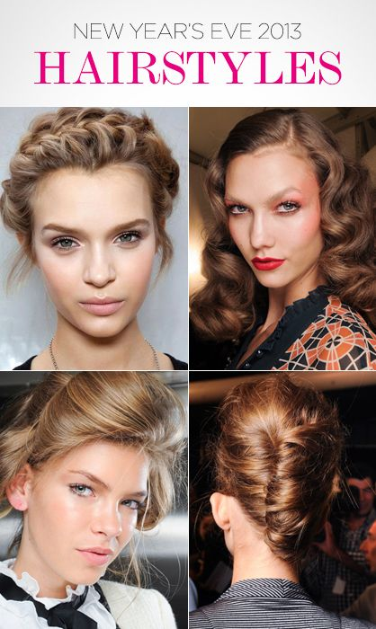 Lux Beauty Four New Year S Eve Hairstyles To Try Hair Styles Gorgeous Hair Hollywood Curls