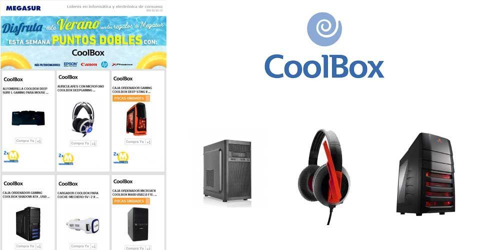 Puntos dobles con Coolbox