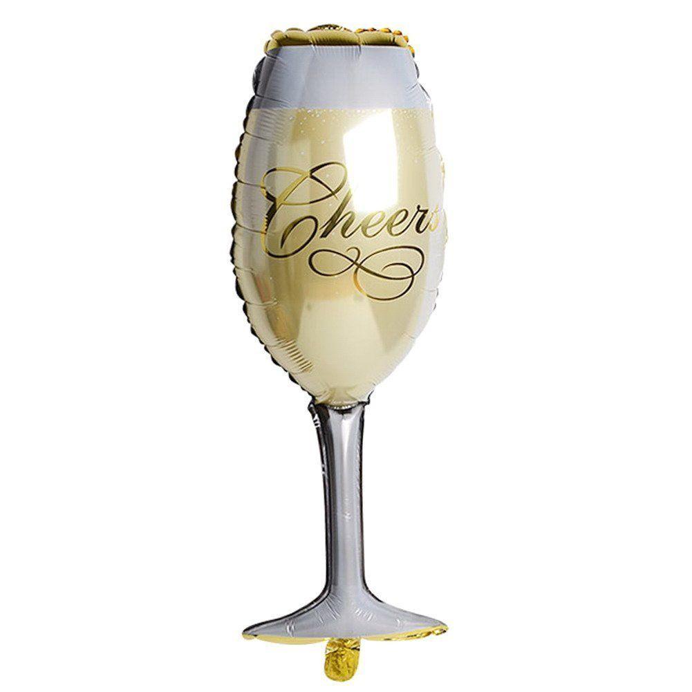 Champagne Glass Foil Balloon wine Birthday,Celebration,wedding,anniversary