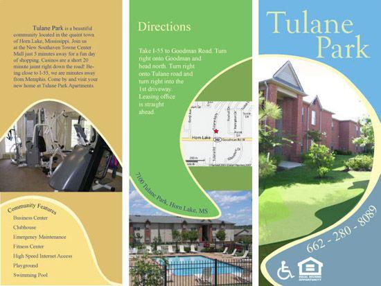 Professional Brochure Examples Ideal Vistalist Co