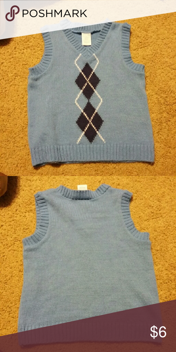 WONDER KIDS BOYS KNITTED VEST SZ 4T In great condition. From smoke and pet free home. wonder kids  Shirts & Tops