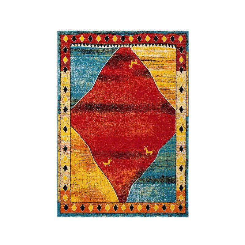 Teppich modernes Design Rug Folklore 420 Multi Design Pinterest