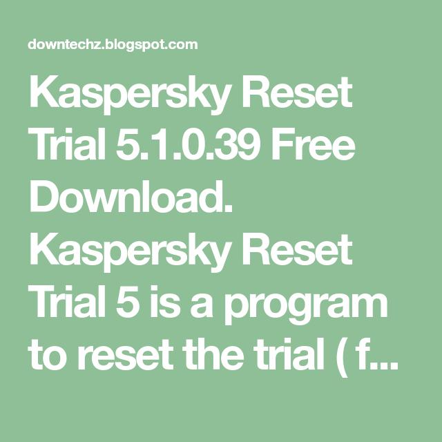 reset trials
