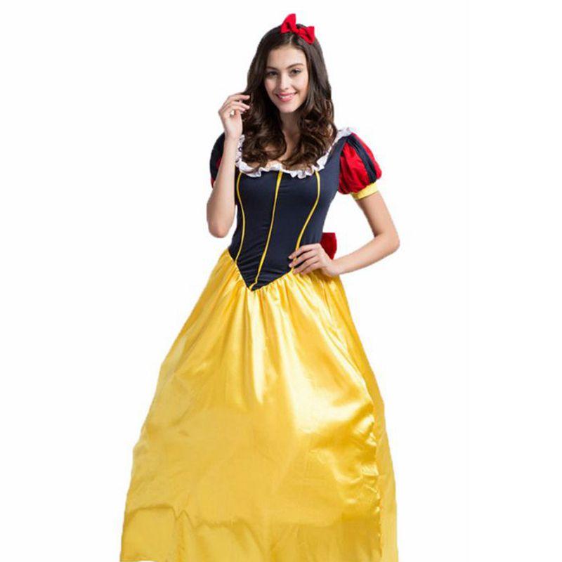Snow white costume adult snow white disfraces adultos halloween ...