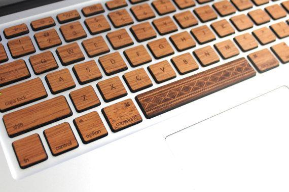 pretty nice db6eb c212f Macbook Custom Keyboard Skin Decal with Custom Spacebar MacBook Air ...