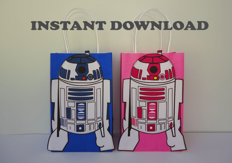 photo regarding R2d2 Printable identified as PRINTABLE--\u003e Star Wars/ StarWars R2D2 Birthday Bash Prefer