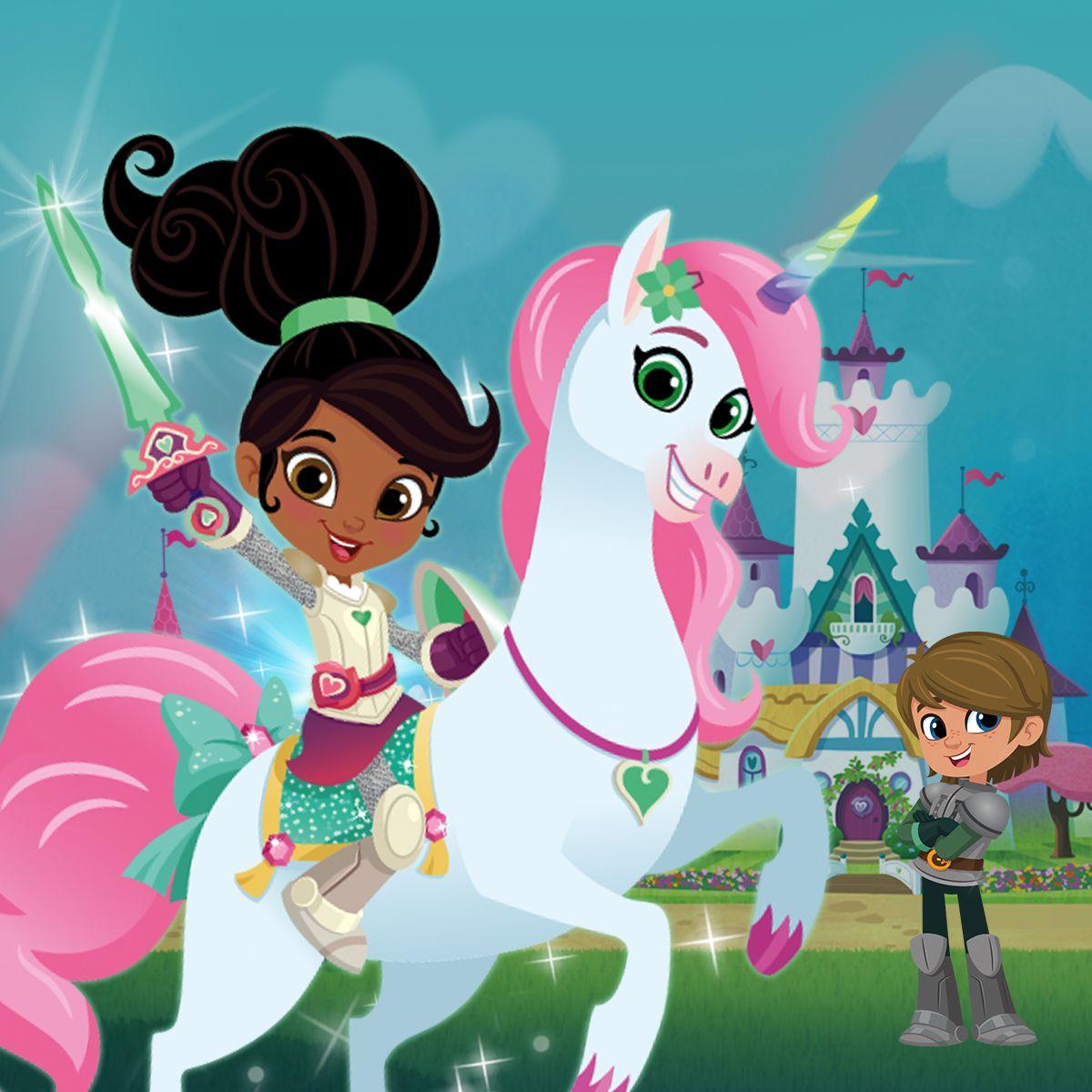 Meet Nella The Princess Knight Knight Party Unicorn Birthday