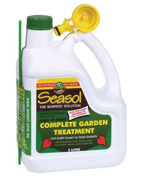 Seasol Organic Fertiliser is a fantastic organic liquid