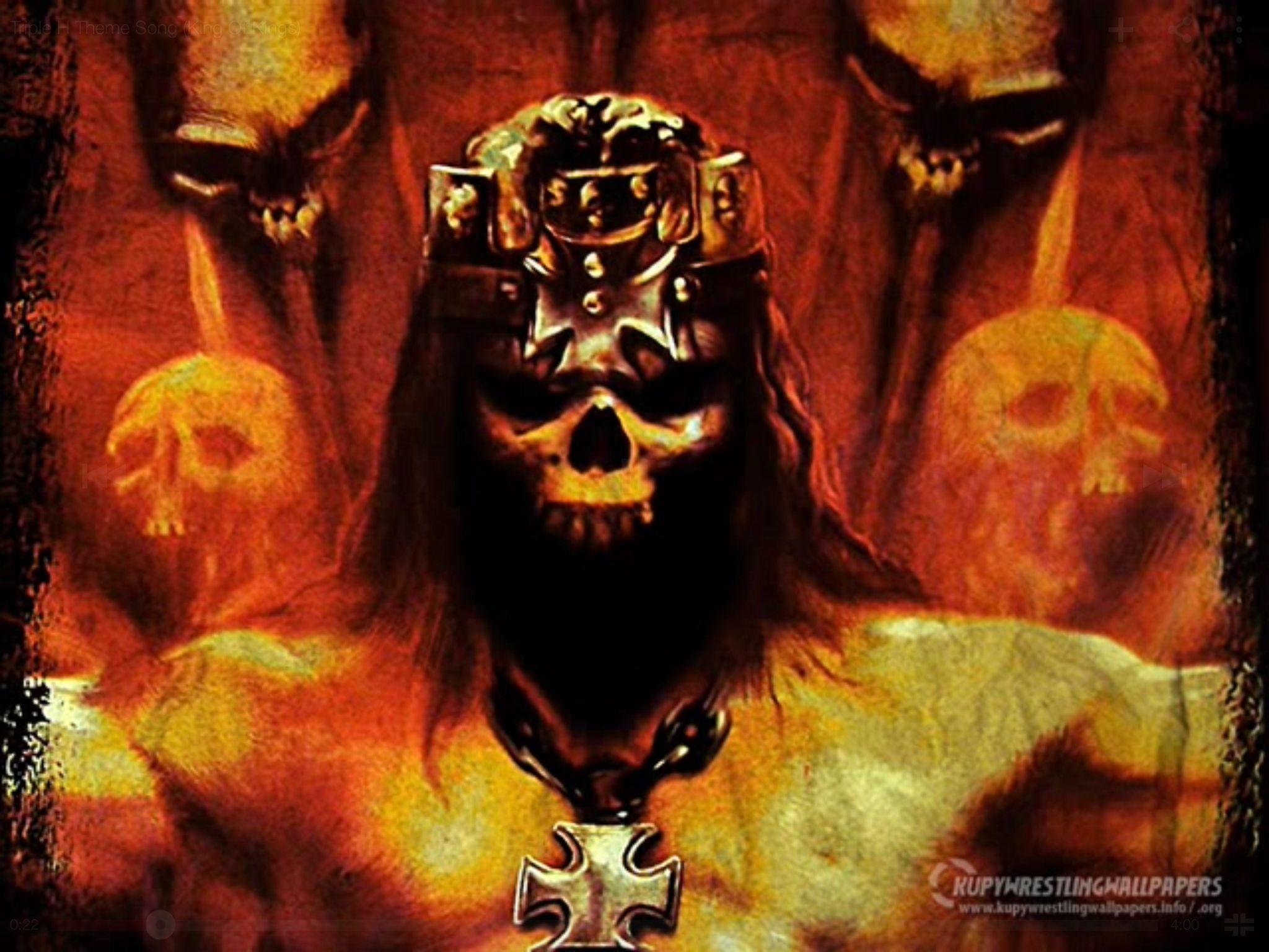 Pin By Aaron Pons On Wwe King Of Kings Triple H Motorhead
