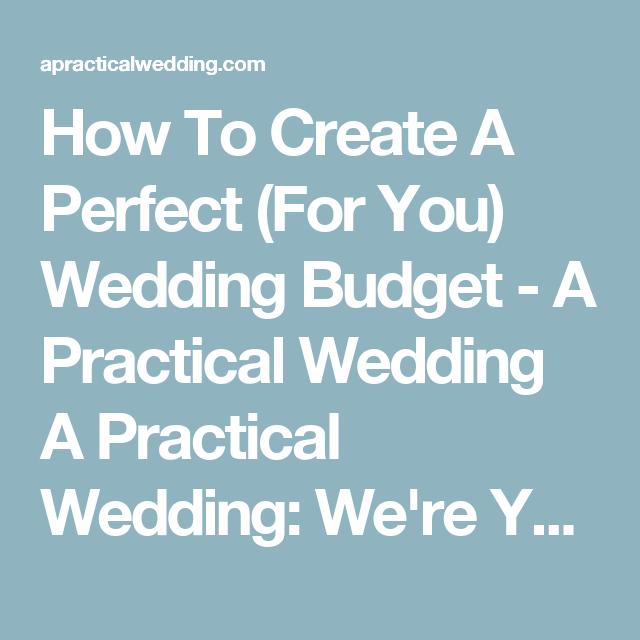 A Practical Wedding Real Weddings: Pin On Wedding Ideas