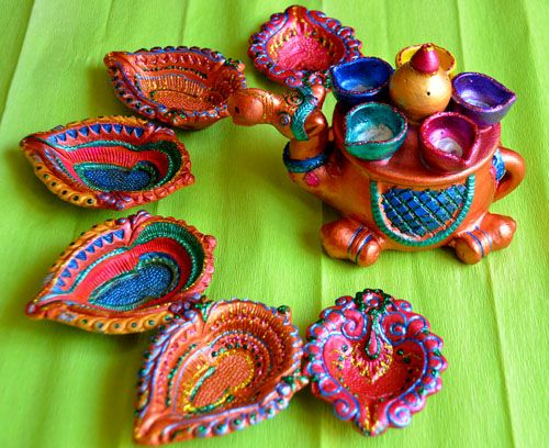 Handmade Decorative Diya For Diwali