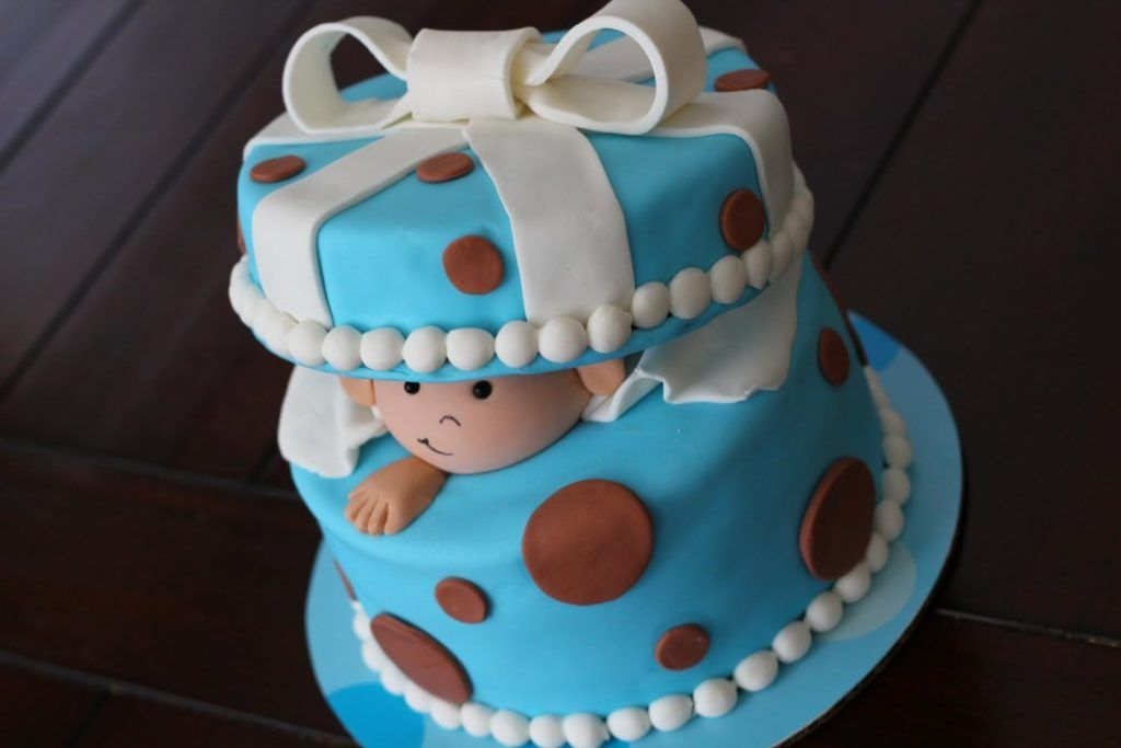 Boys First Birthday Smash Cake With Images Baby