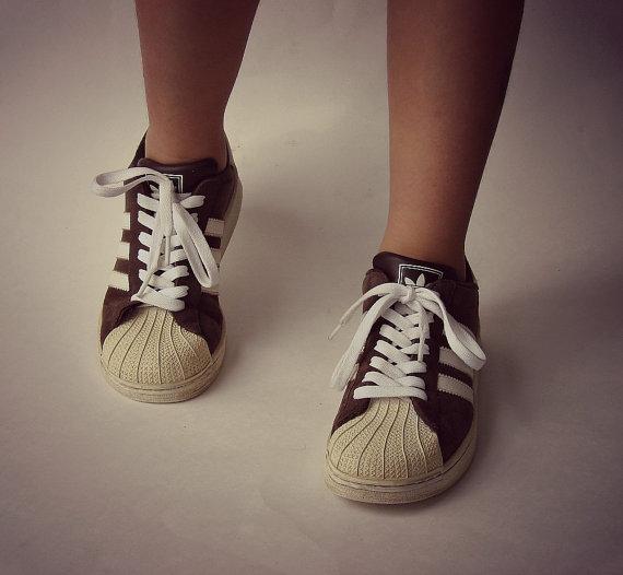 le adidas superstar shell la scorpe brown le scarpe sportive