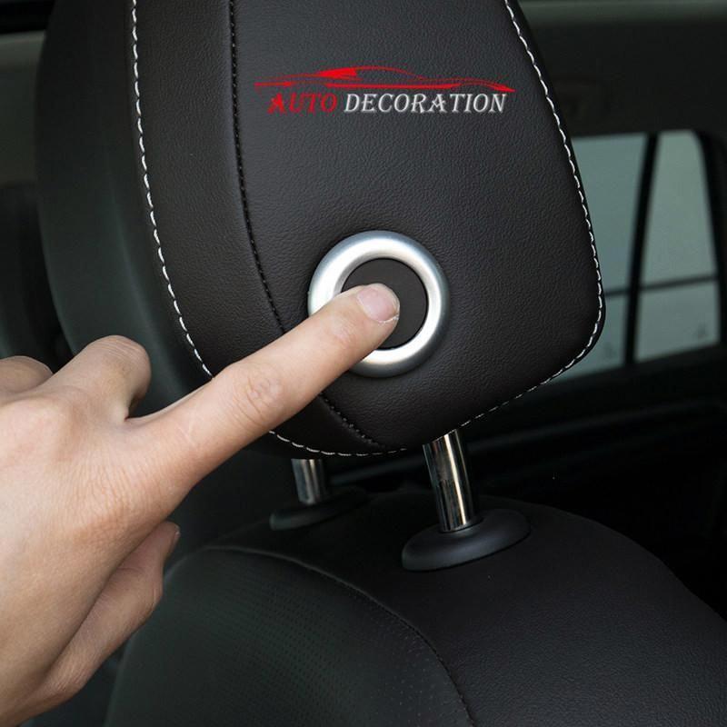 For Vw Volkswagen Passat B8 2017 2018 Interior Car Styling Matte Headrest Switch Button Cover Trim 2pcs Yesterday S Volkswagen Passat Volkswagen Vw Volkswagen