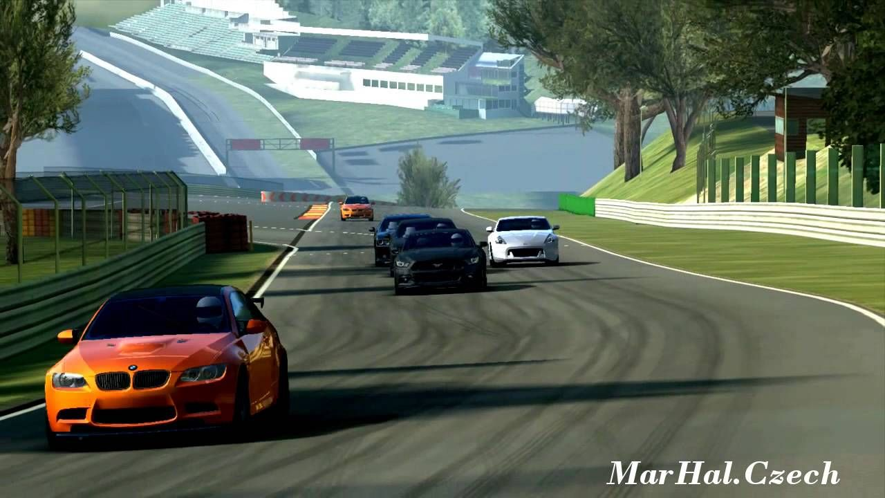 Ford mustang gt premium circuit de spa francorchamps real racing 3