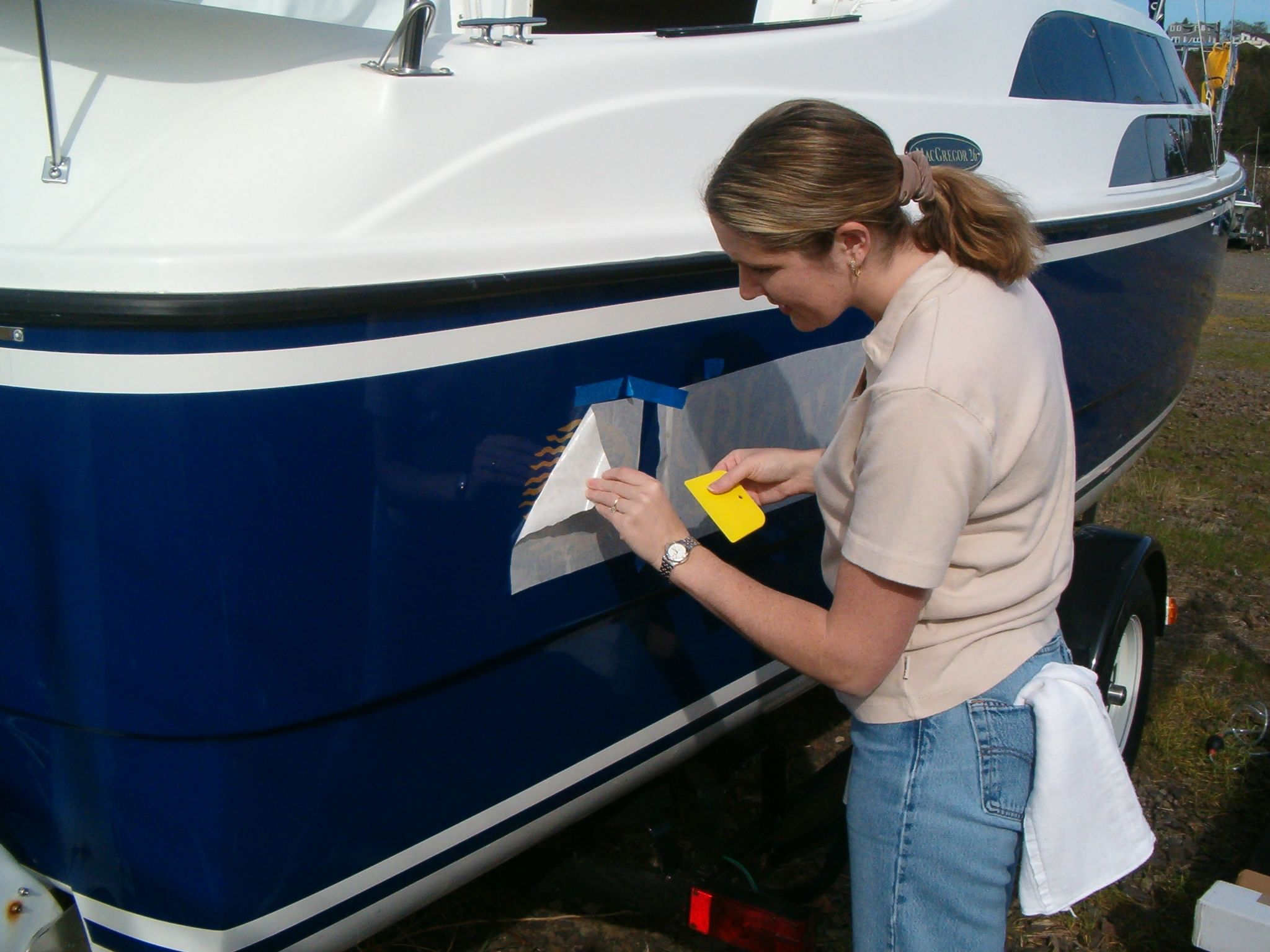 How To Remove Boat Decals Boatlife In 2020 Boat Decals Boat Name Decals Boat