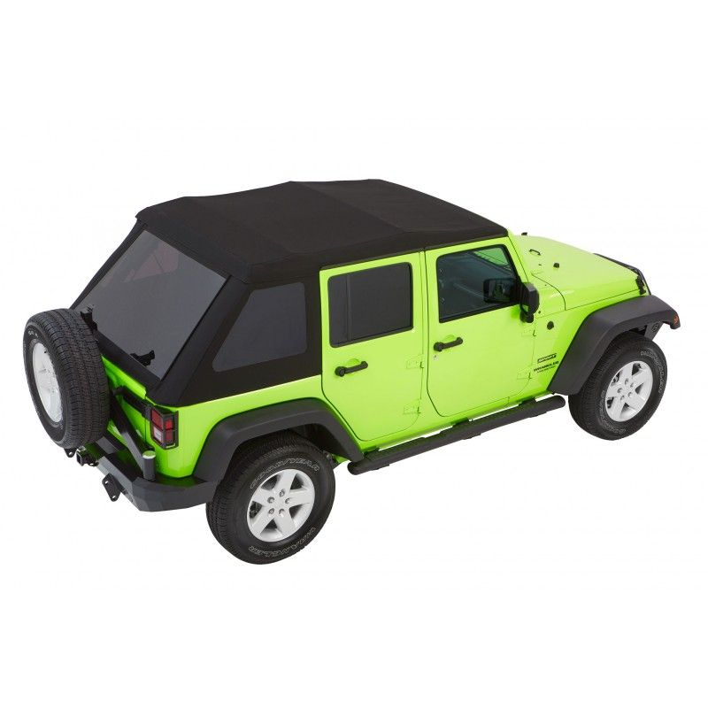Bestop Trektop Nx Glide Soft Top With Tinted Side Rear Windows