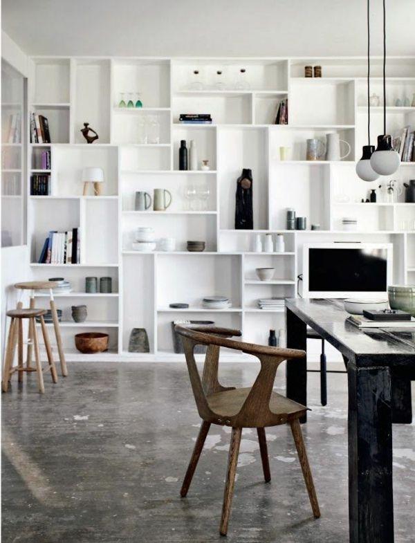 regalsysteme helfen ihnen ihre gegenst nde zu organisieren offene regale h ngelampen und. Black Bedroom Furniture Sets. Home Design Ideas