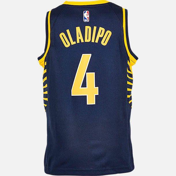 4fbdfdd0accb Nike Team Kids  Indiana Pacers NBA Victor Oladipo Icon Edition Swingman  Jersey