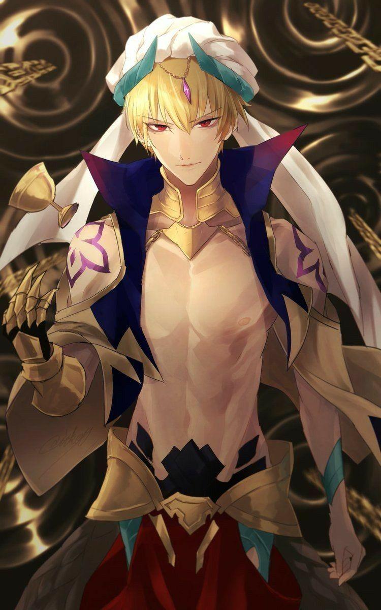Gilgamesh Caster Anime Boys Servamp