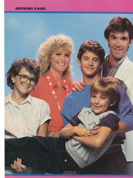 Growing Pains cast | 80's Teen Idols | 80 tv shows, Old tv