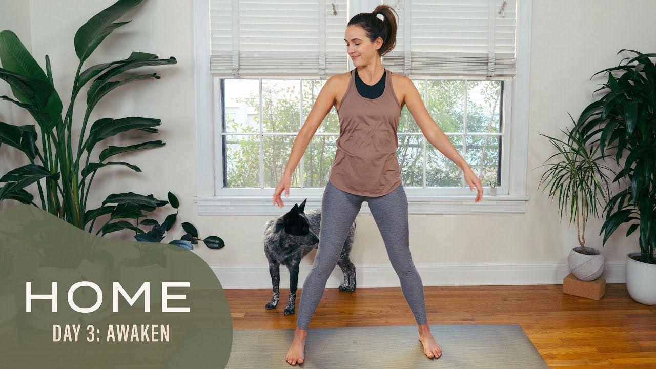 Home day 3 awaken 30 days of yoga with adriene