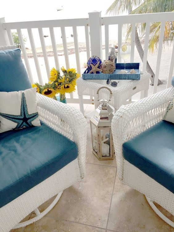 New Home Interior Design Key West Vacation Home: Beach House Decor, Terrace Decor, Beach Patio