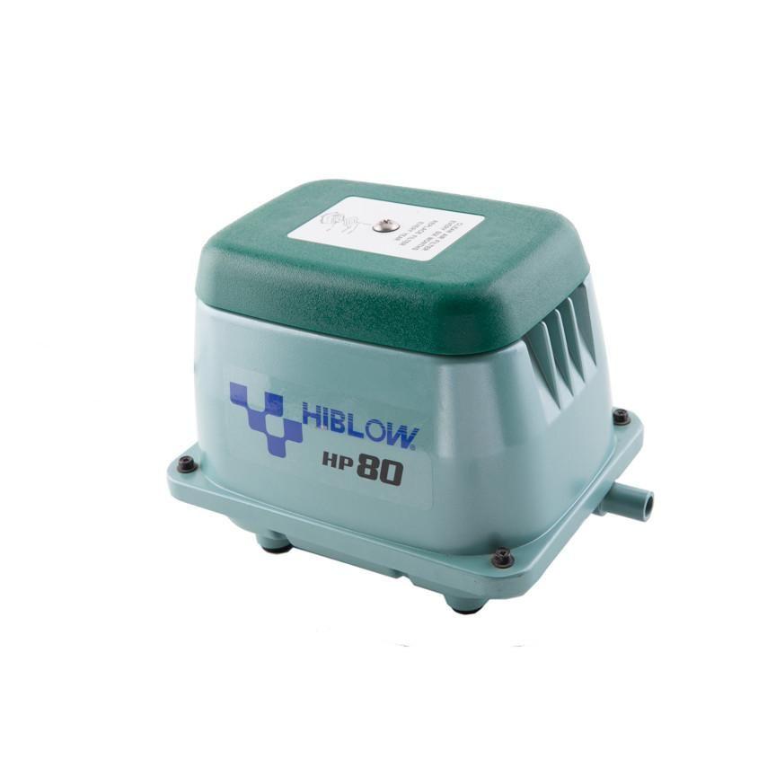 Hiblow Hp 80 Septic Air Pump Wholesale Septic Supply Aquaponics Aquaponics System Aerator
