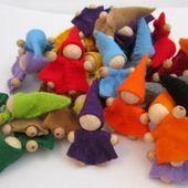 Filzmännchen – ein kleines Weihnachtsgeschenk – #ein #Filzmännchen #kleines …