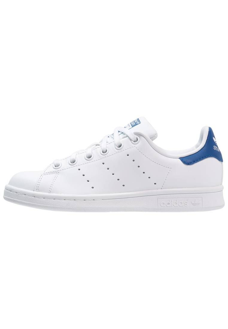the latest 6af93 fcd25 adidas Originals. STAN SMITH - Baskets basses - blanc bleu. Semelle de  propreté