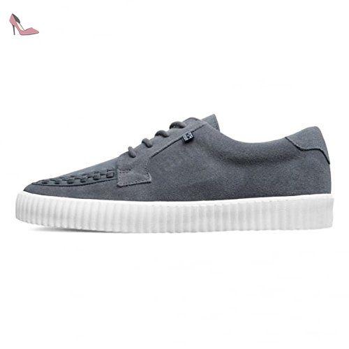 T.U.K. Shoes Men's Mens Black Lace Up Western Jam Shoe EU44 / UKM10 74NiNHf