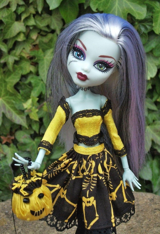 ooak monster high halloween doll - Google Search