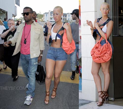 amber rose Kanye west style, Kanye west, Kanye