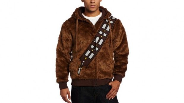 Chewbacca Hoodie Laugh It Up Fuzz Ball Absurdiem - Hoodie will turn you into chewbacca from star wars
