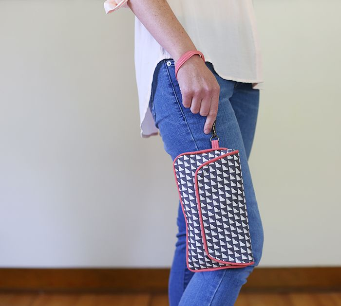 Noodlehead Updated Envelope Clutch | Sewing bags | Pinterest