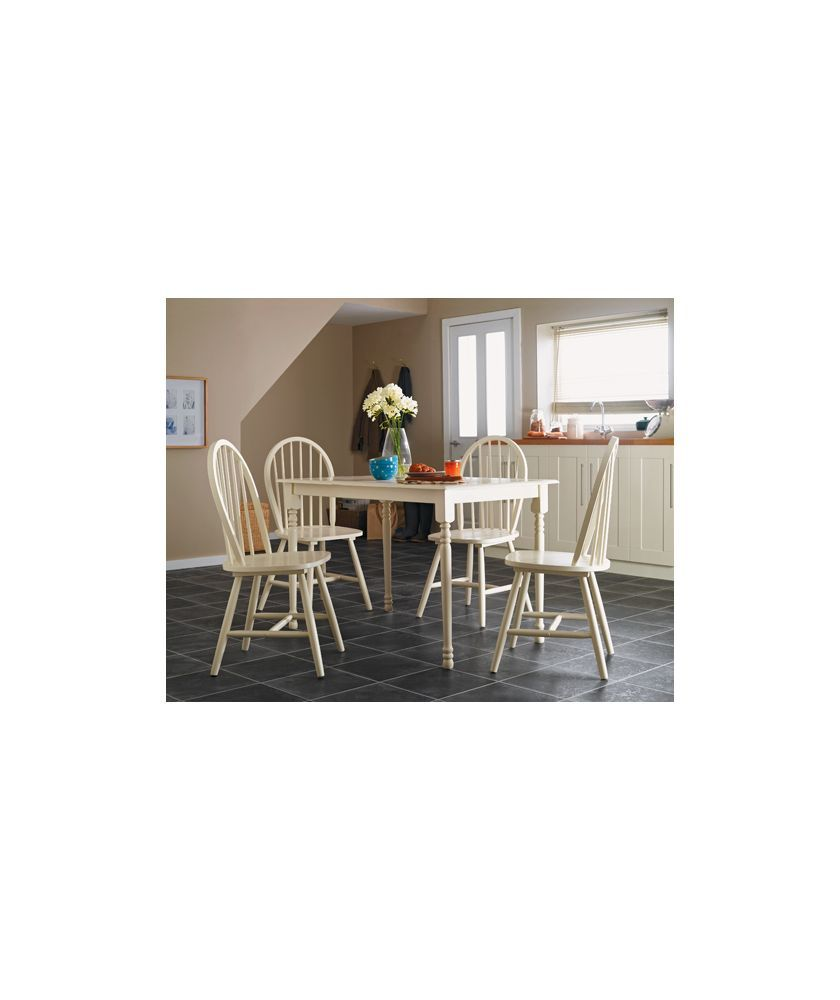 Buy Loire Dining Table And 4 Cream Chairs At Argos.co.uk