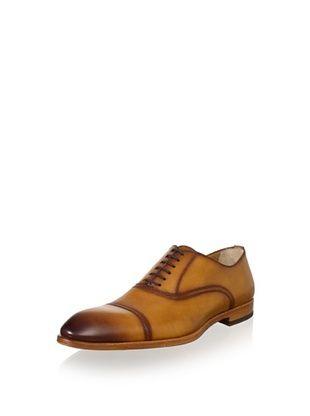 69% OFF Antonio Maurizi Men's Cap-Toe Dress Shoe (Cuoio)