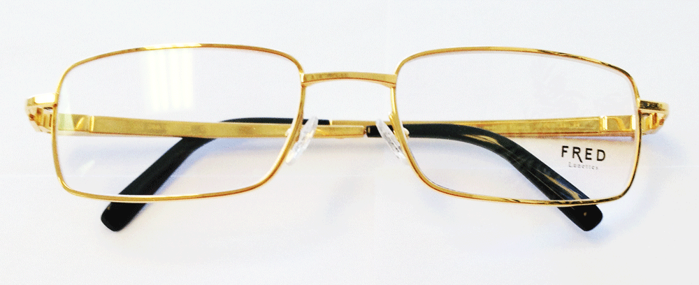 482172d7ac Classic Fred luxury with this pair of gold eyeglasses for men … nothing  comparable to the quality and exquisite design of these frames …. straight  from ...