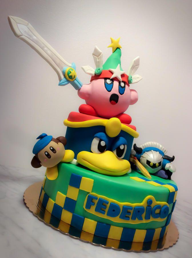 Kirby Cake - Cake By Danida
