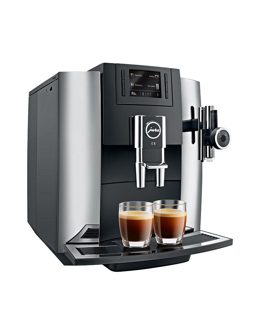 Jura E8 Chrome Coffee Maker Espresso Machine Beautiful Places En 2019