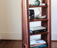 Craftsman Style Magazine Cabinet | Popular Woodworking Magazine