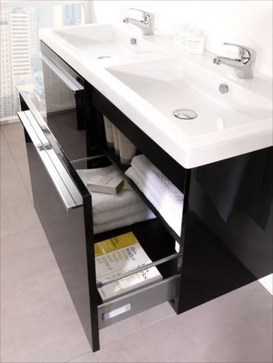 Porcelanosa city vanity and sink for the home for Porcelanosa sinks