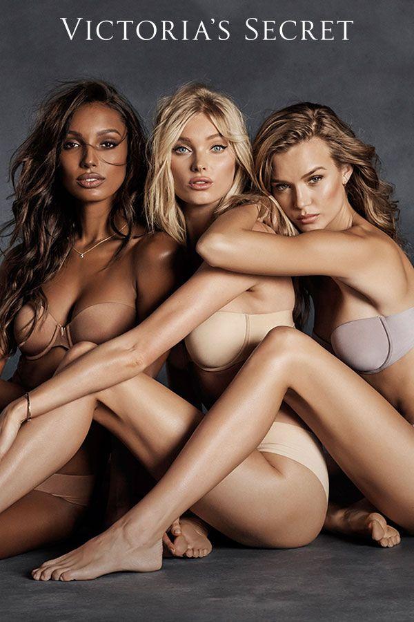 Strike the right tone with our non-slip strapless. | Victoria's Secret
