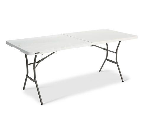 Lifetime Kunststoff Klapptisch Klapptisch Camping Tisch Und
