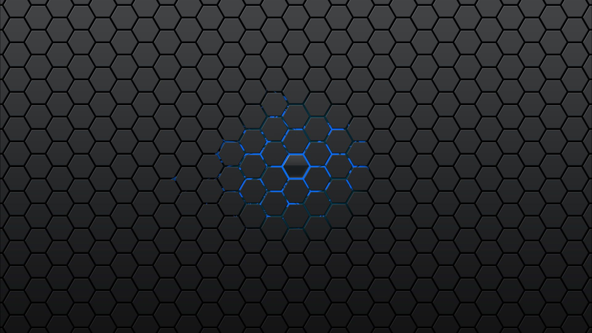 Black And Blue Abstract Wallpaper Gray And Blue Honeycomb Graphic Honeycombs Abstract Minimalism Sim Abstract Wallpaper Hexagon Wallpaper Samsung Wallpaper