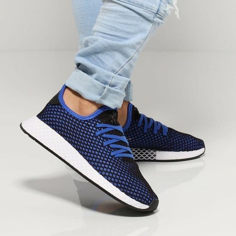 Adidas Deerupt Hi Res Blue Brand New In Box Bnib Original 100